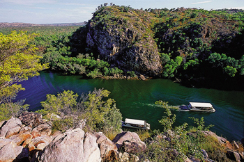 Katherine Gorge one day scenic boat cruise from Darwin and return