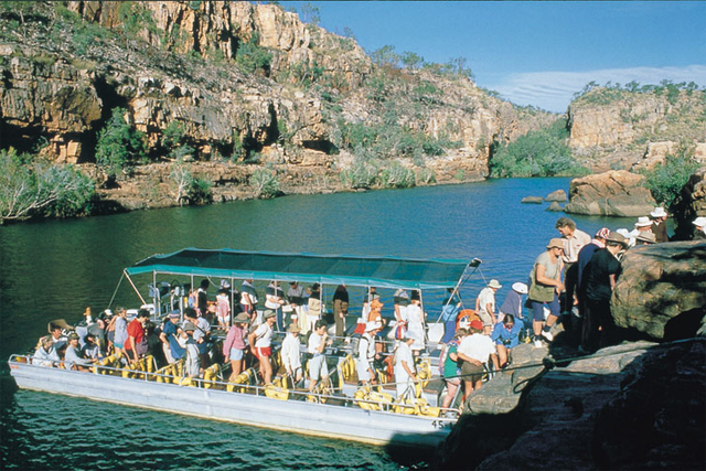 boat cruise, canoe (seasonal), a scenic breathtaking flight over the Gorge System (all optional and own expense)