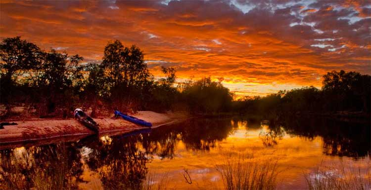 Canoeing Northern Territory trips