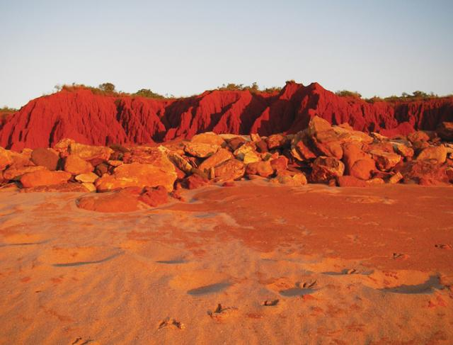 Broome's red sand dunes